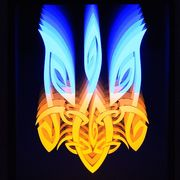 LED світильники-картини з ефектом нескінченності